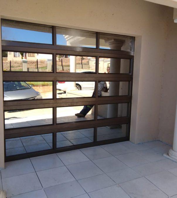aluminium garage doors rustenburg